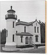 Admiralty Head Lighthouse Wood Print