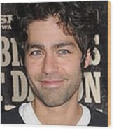 Adrian Grenier At Arrivals For True Wood Print