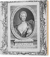 Adrienne Lecouvreur Wood Print