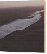 Aerial Of The Buffalo River Wood Print by Randy Olson