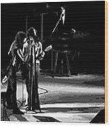 Aerosmith In Spokane 12 Wood Print