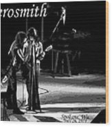 Aerosmith In Spokane 12b Wood Print