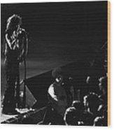 Aerosmith In Spokane 15 Wood Print