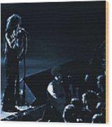 Aerosmith In Spokane 15a Wood Print