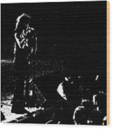 Aerosmith In Spokane 15b Wood Print