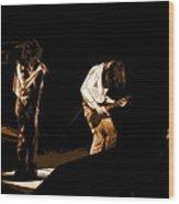 Aerosmith In Spokane 19a Wood Print