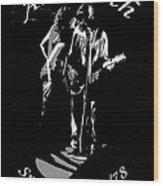 Aerosmith In Spokane 1b Wood Print