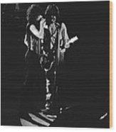Aerosmith In Spokane 2 Wood Print