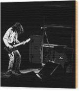 Aerosmith In Spokane 23b Wood Print