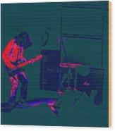 Aerosmith In Spokane 23e Wood Print