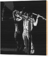Aerosmith In Spokane 27a Wood Print