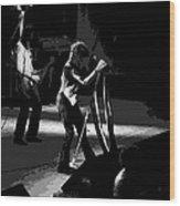 Aerosmith In Spokane 3 Wood Print
