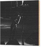 Aerosmith In Spokane 4 Wood Print