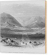 Afghan War 1839-1842. For Licensing Requests Visit Granger.com Wood Print