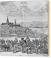 Africa: Benin City, 1686 Wood Print