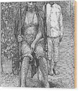 Africa: Makololo Chief Wood Print