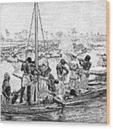 Africa: Pirates Wood Print