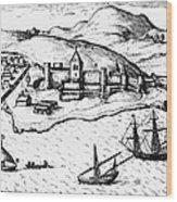 Africa: Portuguese Fort Wood Print