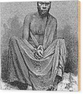 Africa: Yao Chief, 1889 Wood Print