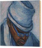 African American 1 Wood Print
