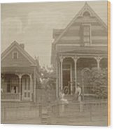 African American Middle Class Wood Print