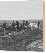 African-american Soldiers Of The 321st Wood Print