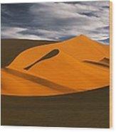 African Dunes Wood Print