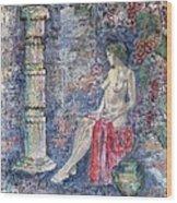 Afrodite Wood Print