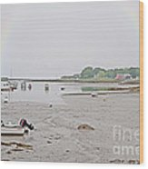 After The Rain Kennebunkport Maine Wood Print