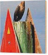 Afternoon Fishing Wood Print