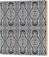 Agate-38e Border Tiled Wood Print