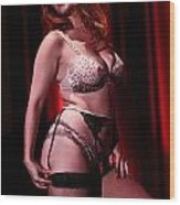 Age-old Art Of Burlesque Wood Print