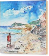Agia Galini 01 Wood Print