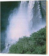 Agoyan Falls Wood Print