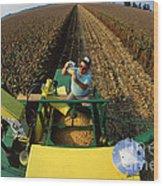 Agricultural Engineer Wood Print