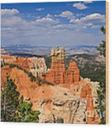 Agua Canyon Bryce Canyon National Park Wood Print