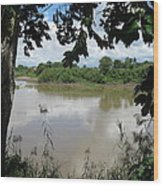 Agusan River Near Ja Pao Wood Print