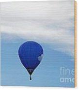 Air Balloon Cloud Nine Wood Print