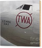Air Mail Wood Print