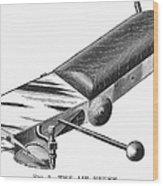 Airbrush, 1886 Wood Print