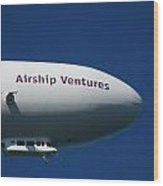 Airship Ventures Eureka Wood Print