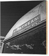 Airstream Wood Print