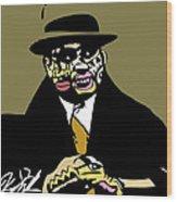 Al Capone Full Color Wood Print