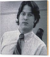 Al Gore At 22 Years Old Wood Print by Everett