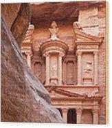 al-Khazneh Wood Print by Jane Rix
