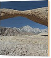Alabama Hills Arch Wood Print