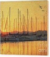 Alabama Sunrise Wood Print