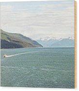 Alaskan Boatride Wood Print