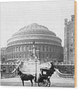 Albert Hall In London - England - C 1904 Wood Print