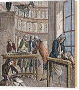 Albrecht Von Haller In Lab Wood Print